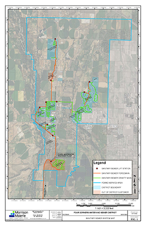 Sanitary Sewer System Map
